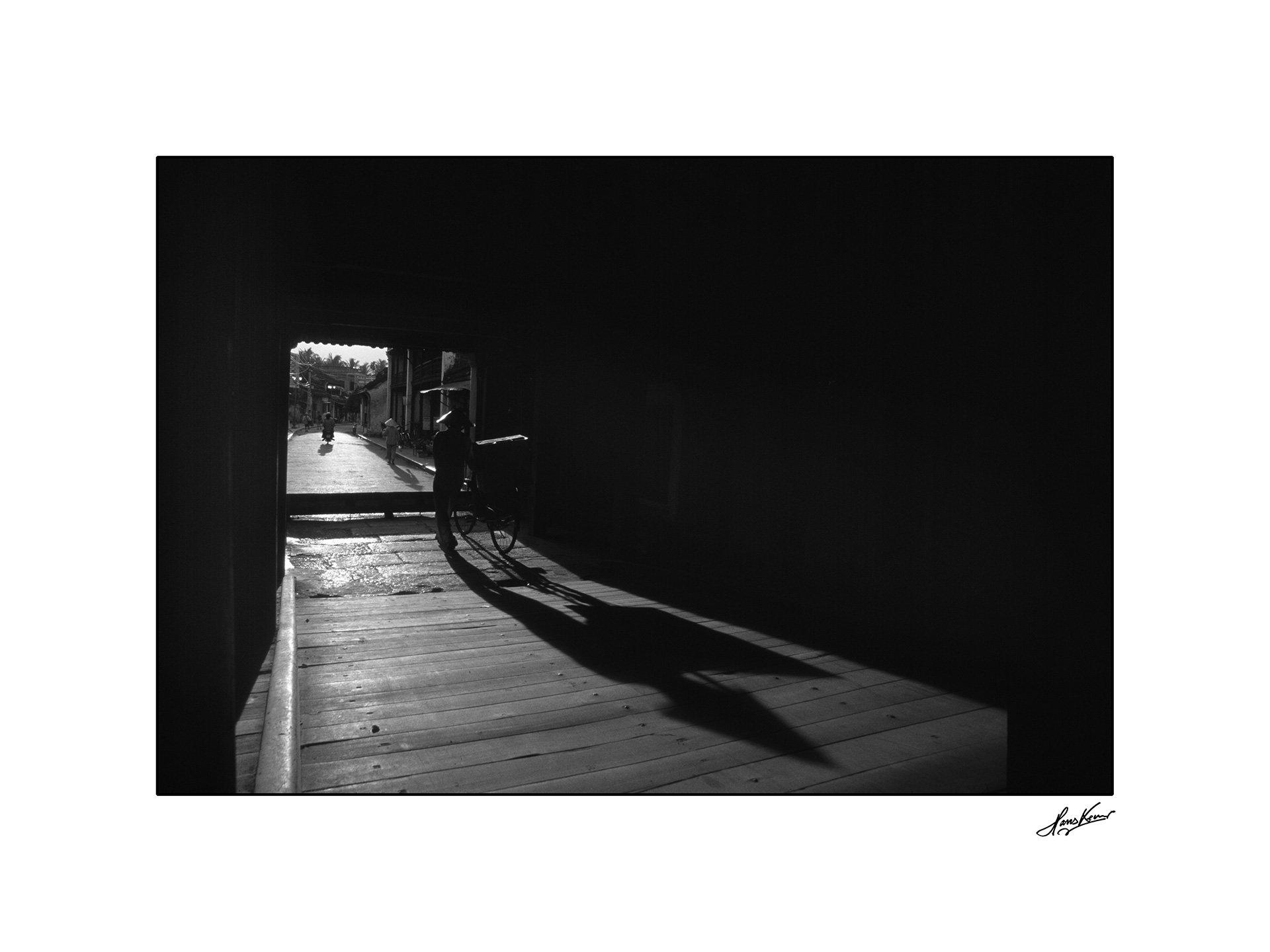 Shadow, Japanese Bridge, Hoi An, Vietnam, 1999