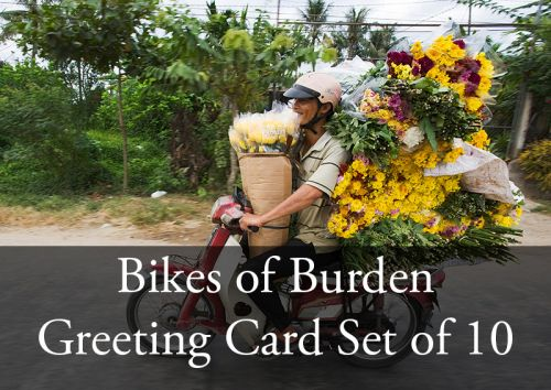 Bikes of Burden Greeting Card Set (all 10 cards)