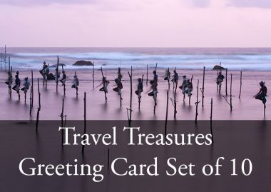GREETING CARDS TRAVEL TREASURES COLLECTION
