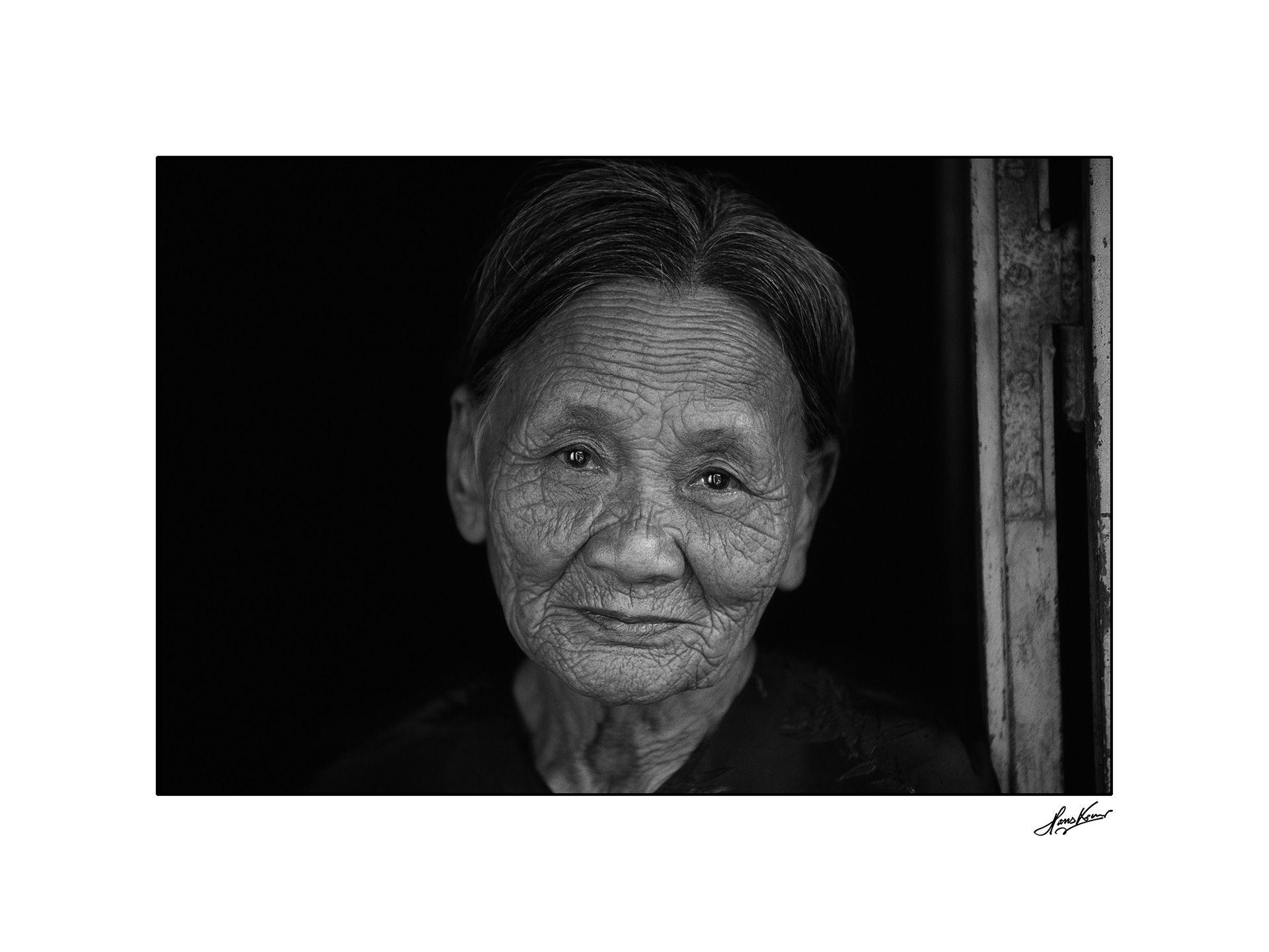 Portrait of a woman in Hoi An, Vietnam, 2000