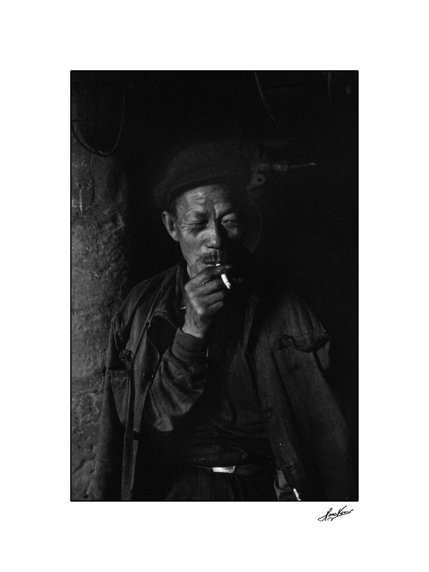 Coal miner, Datong, China, 1993