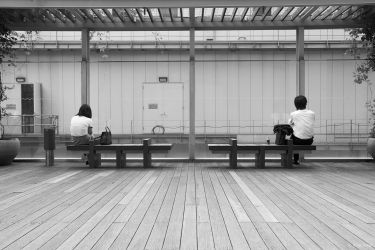 Lunch break, Shinjuku, Tokyo, 2006