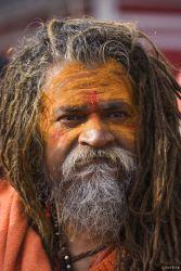 Sadhu at the Khumb Mela, Haridwar, India 2010