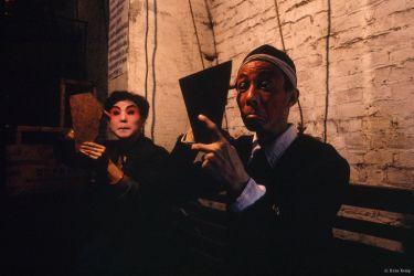 Sichuan Opera performers, Chengdu, Sichuan, 1990