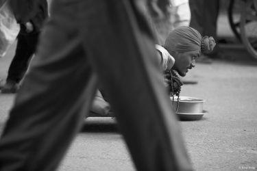 Beggar in Pushkar, Rajasthan, India, 1995