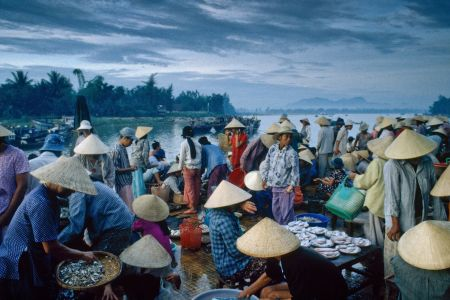 Fishmarket in Hoi An, Vietnam, 2000