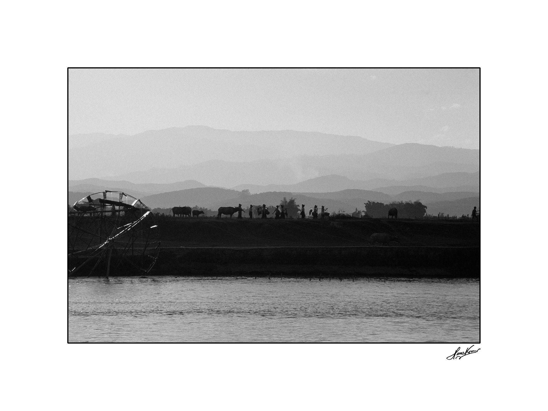 Mekong river, Xishuangbana, China, 1990