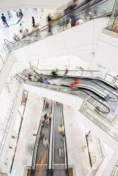 Schindler elevators and escalators, interior